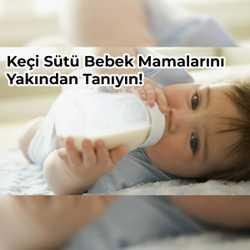 4 Adımda Keçi Sütü Bazlı Bebek Mamalarını Daha Yakından Tanıyalım!
