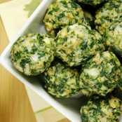 Gebelere Özel Besleyici Atıştırmalık 'Ispanak Topları'
